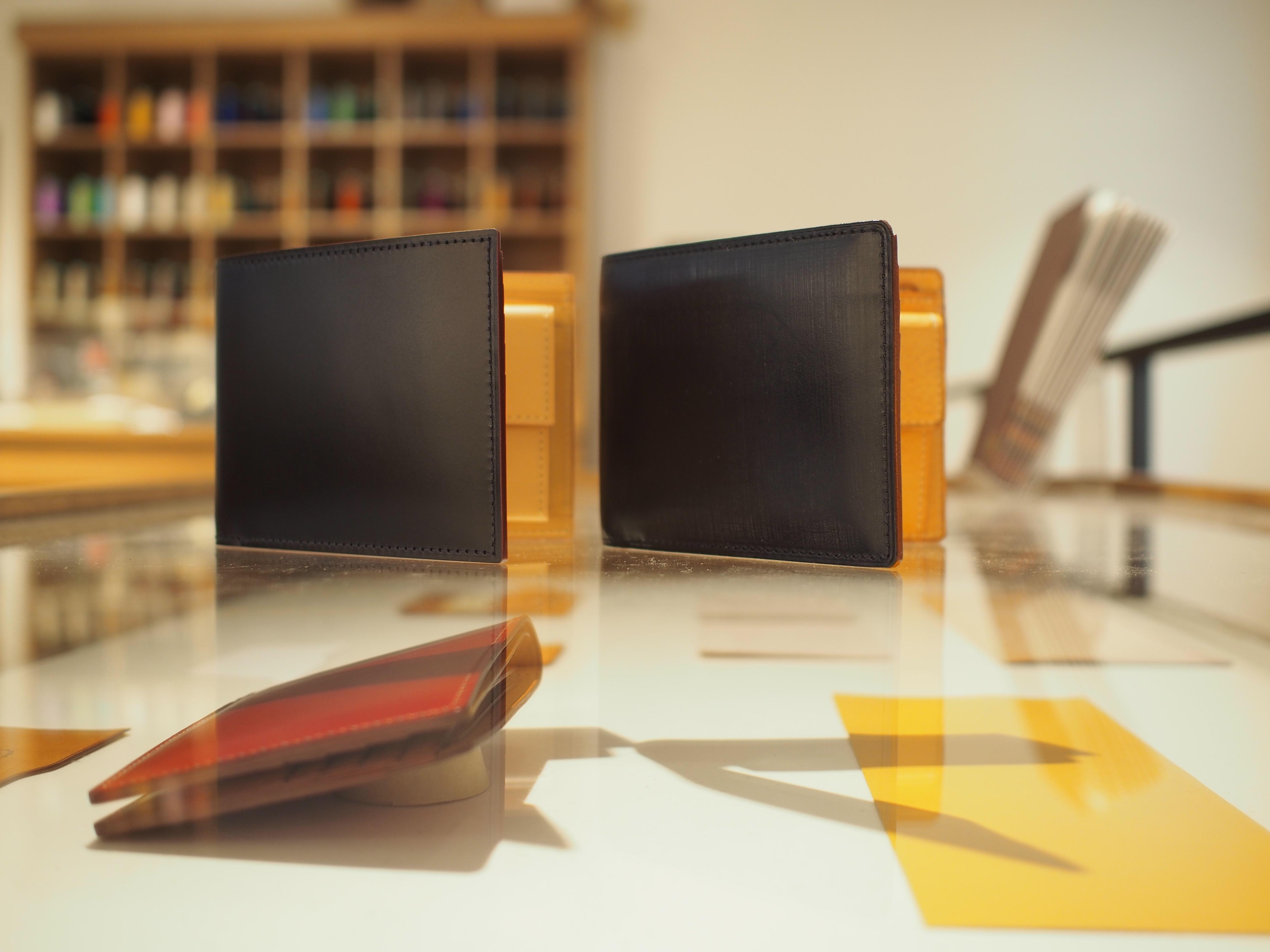 ブライドル&コードバン 人気の二つ折り財布を比較