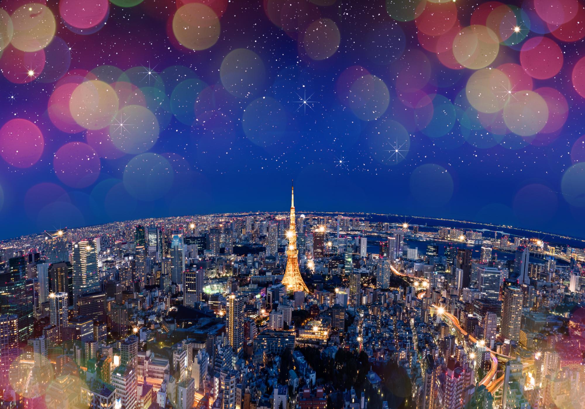 六本木ヒルズ クリスマスイルミネーション2017