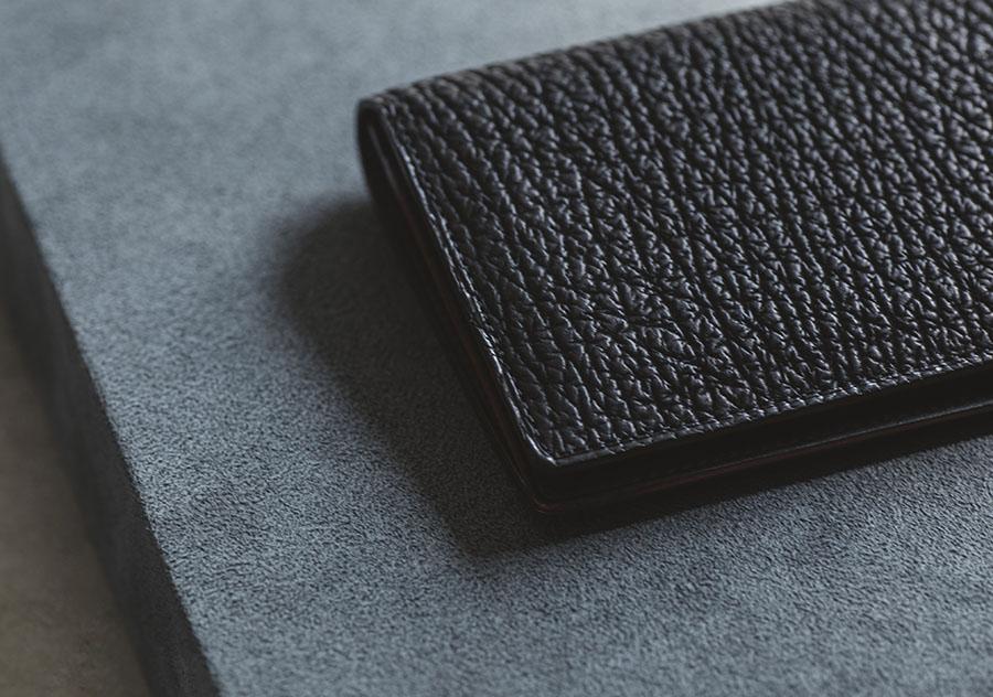 鮫革の長財布