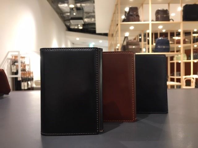 六本木店限定アイテム クロスマチ三つ折り財布受注開始のお知らせ