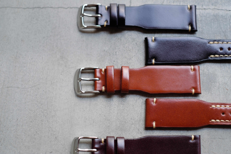 さりげない主張を求めた時計ベルトが新発売。