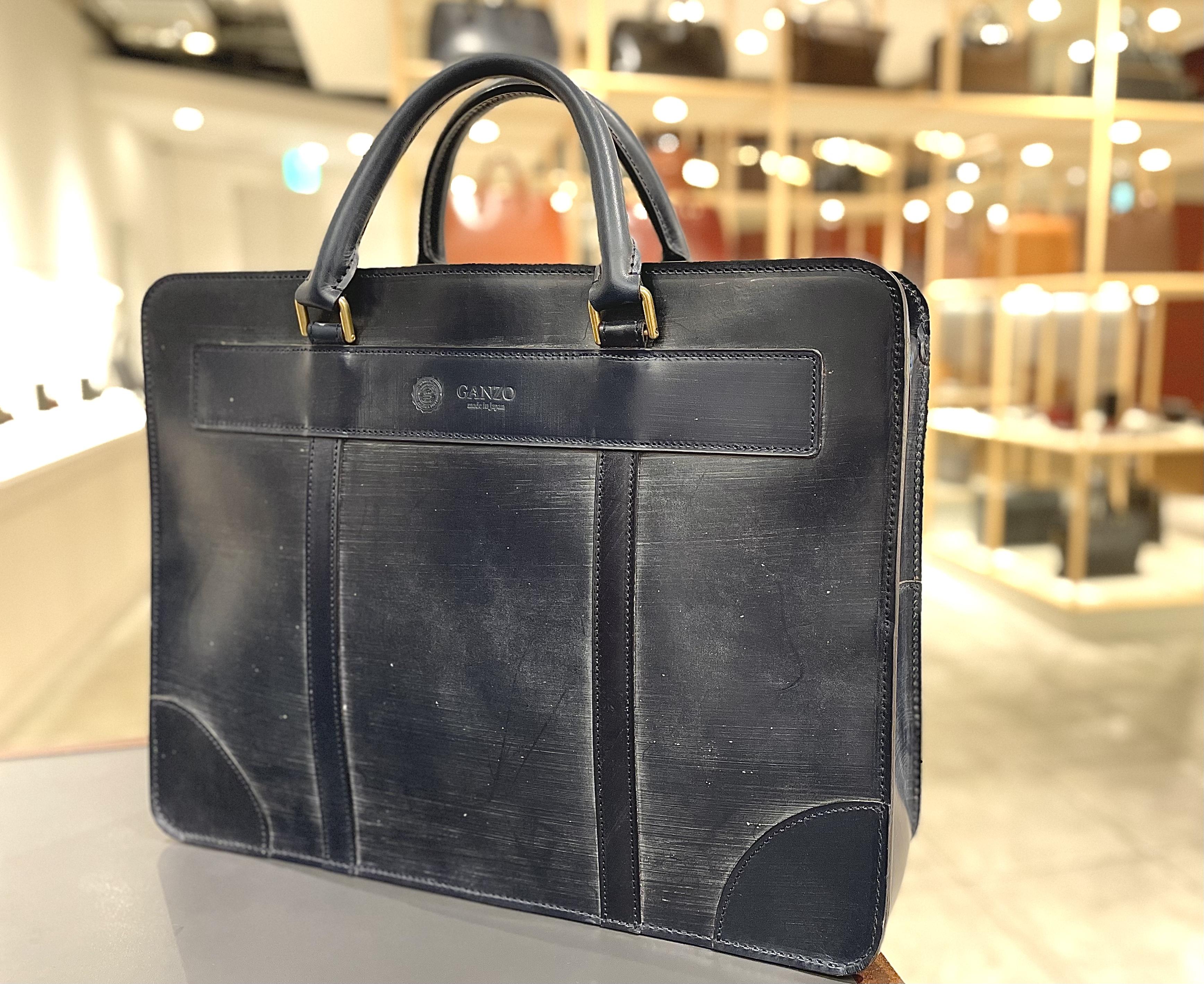 GANZO六本木店スタッフお勧めのビジネスバッグ