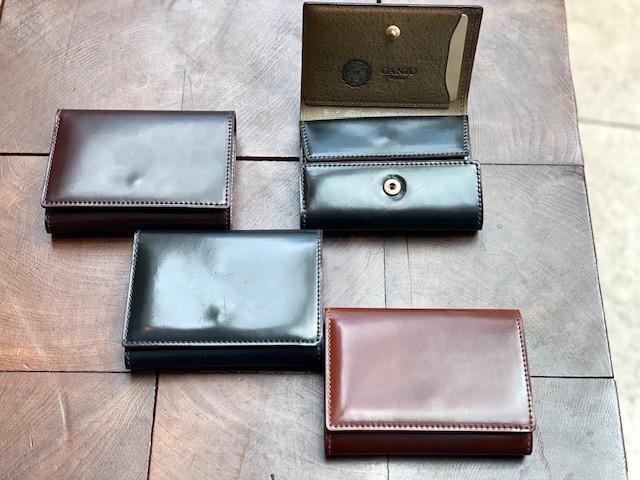 六本木店限定クロスマチ三つ折り財布の受注期間のご案内